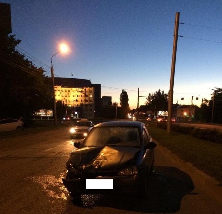 Два пьяных водителя столкнулись в Ставрополе в День России