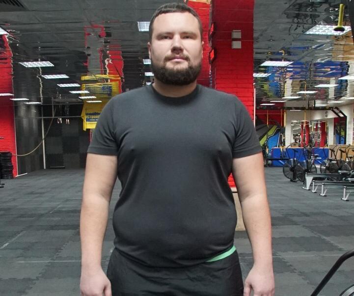 Я пришел за победой, - участник «Сбросить лишнее» Вячеслав Галиба