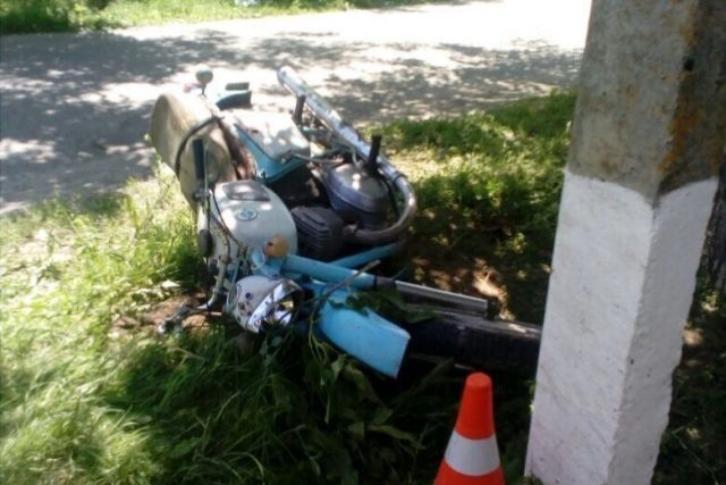 ВСтаврополье 17-летний мотоциклист без прав умер вДТП