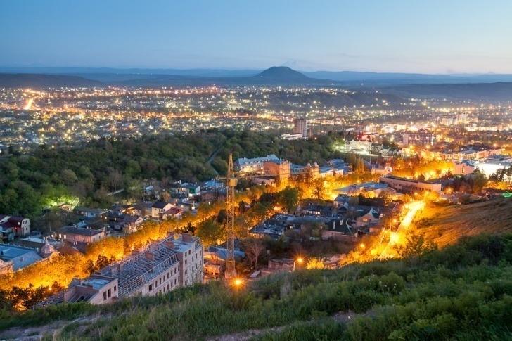 Пятигорск признали бюджетным курортом