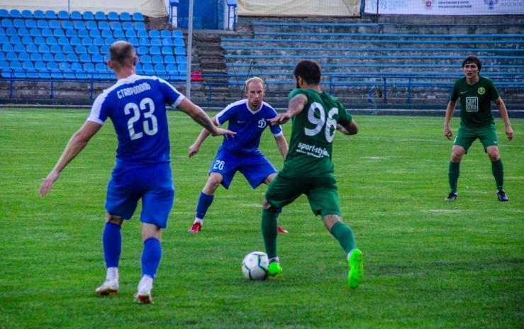 Ставропольский «Динамо» снова победил соперников
