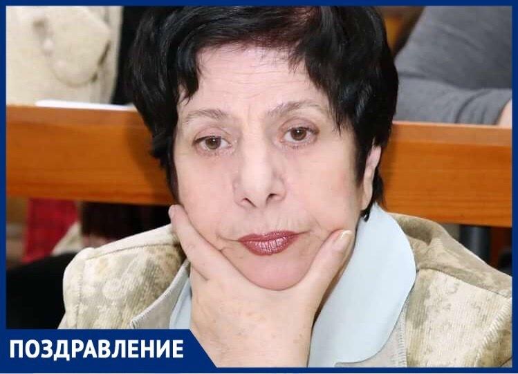 «Ставропольская правда» поздравила с 75-летием бывшего редактора Марину Корнееву
