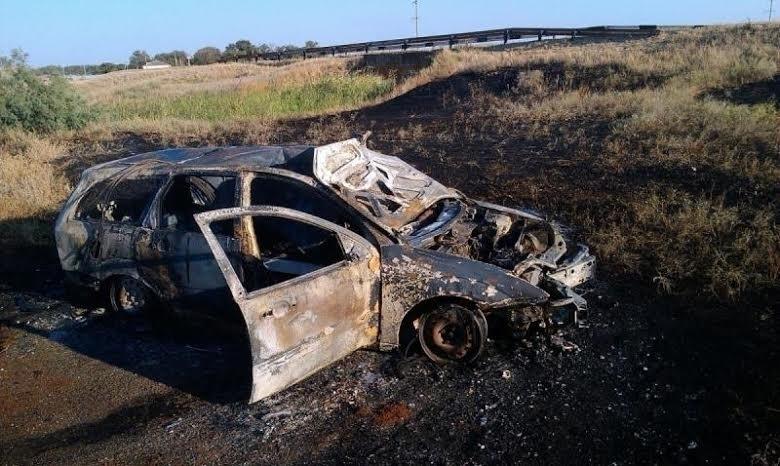 На Ставрополье мужчина сгорел заживо в собственном автомобиле