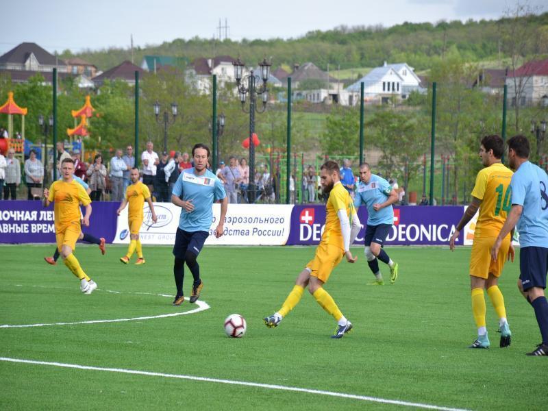 Новый футбольный стадион открыли на Ставрополье