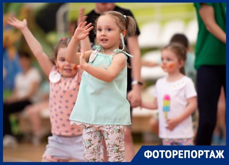 Самые маленькие жители Ставрополя поучаствовали в «Университетском чемпионате по бегу в ползунках»