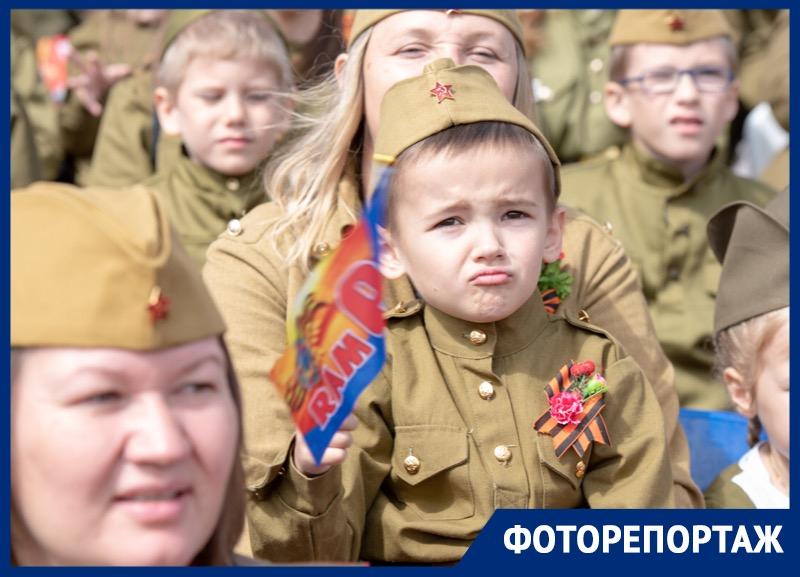 Фоторепортаж с Парада Победы в Ставрополе