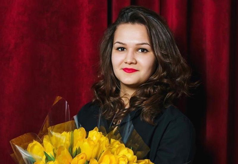 Евгения Жукова в конкурсе «Мисс Блокнот-2019»