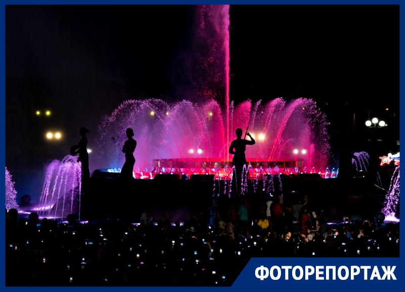 В Ставрополе на первомай прошло открытие сезона фонтанов
