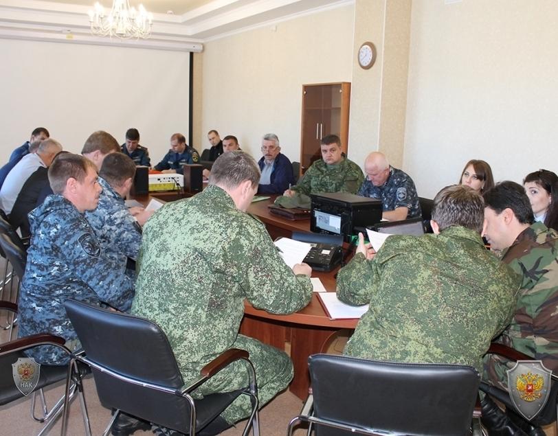 На Ставрополье проводится антитеррористическое учение