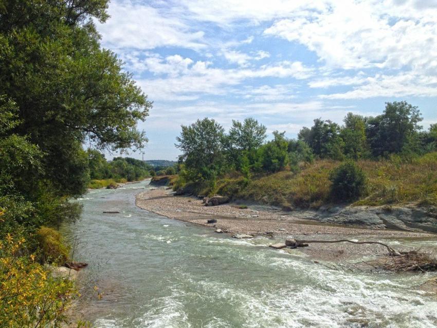Подъём уровня воды в реке Подкумок ожидается в ближайшие часы на Ставрополье
