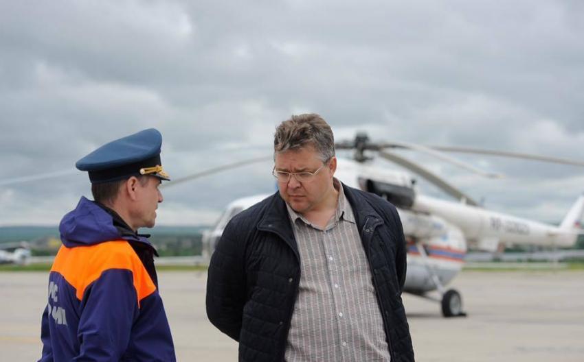 Пучков объявил, что вСтавропольском крае небудет 2-ой волны паводка