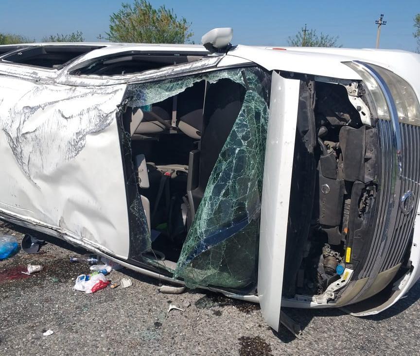 На Ставрополье произошло ДТП с тремя пострадавшими