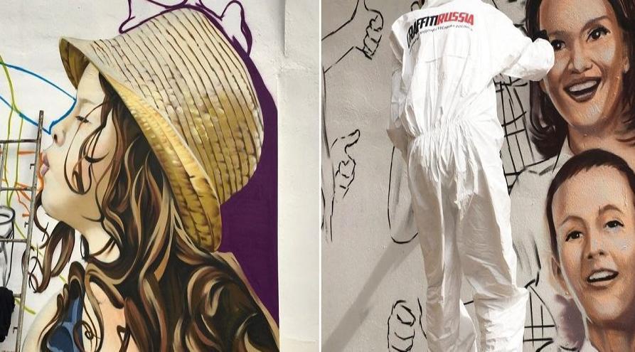 В преддверии международной студвесны в Ставрополе стадион «Динамо» расписывают граффити