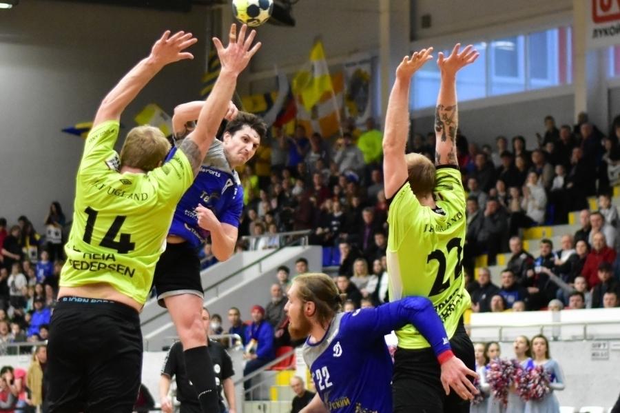 Ставропольские гандболисты вырвались в четвертьфинал европейского кубка