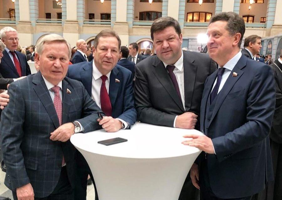 Делегация из Ставрополя приняла участие в церемонии оглашения ежегодного Послания президента Федеральному Собранию