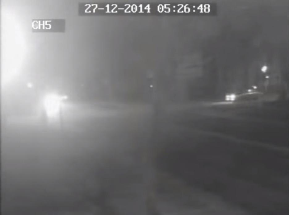 В сети появилось видео страшной аварии в центре Ставрополя