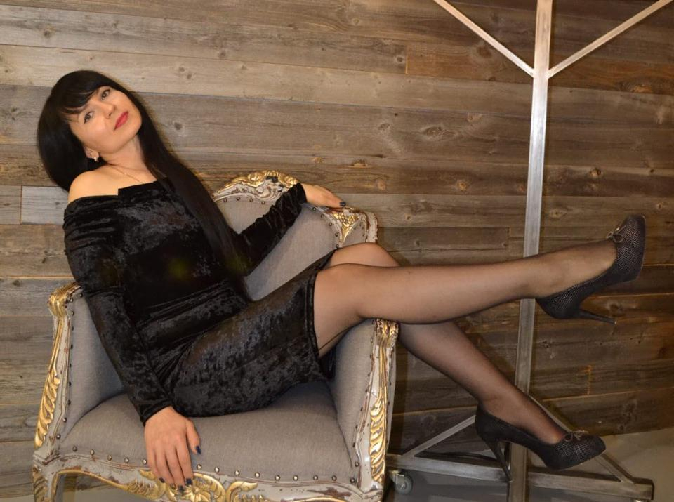 36-летняя Наталья Колтунова в конкурсе «Мисс Блокнот-2019»