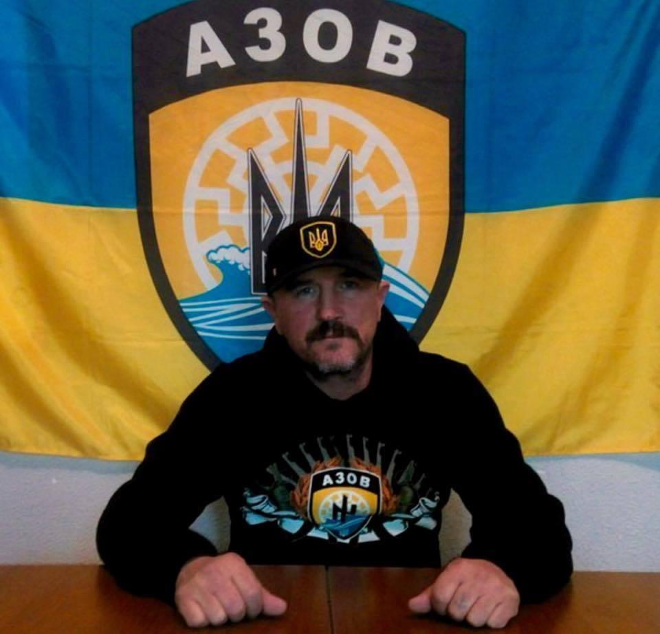 Ставрополец выступает в Киеве от имени карательного батальона «Азов»