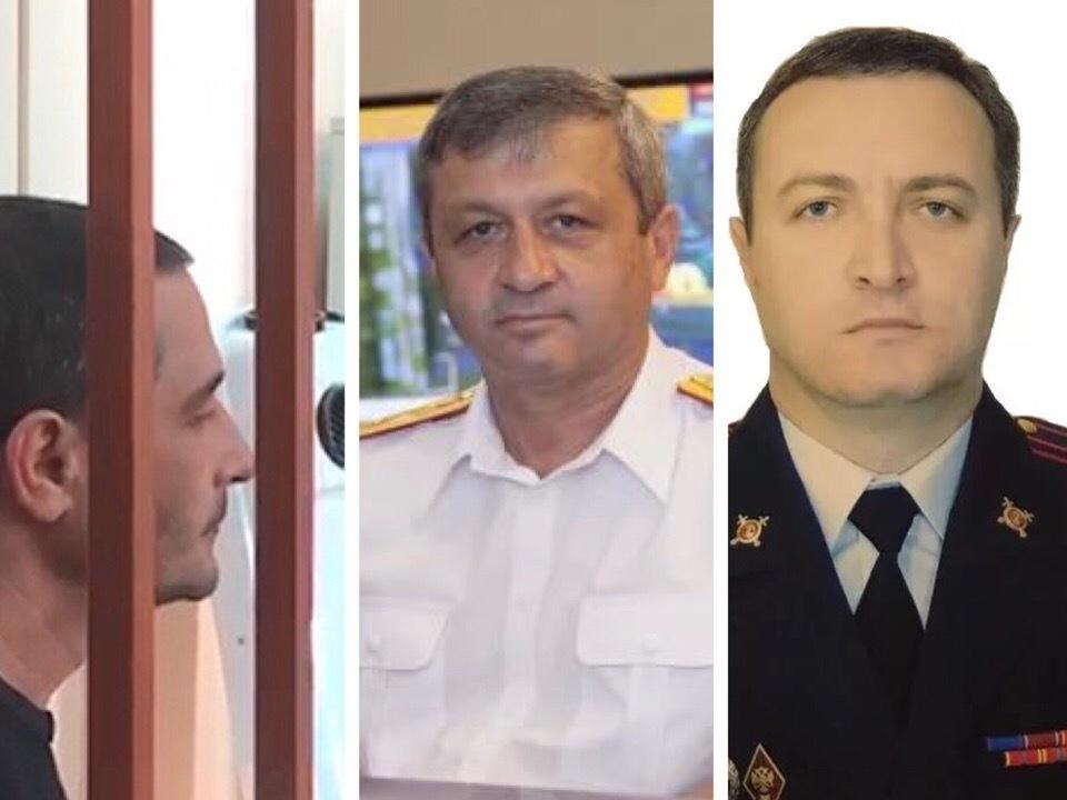 Арестованы трое сотрудников правоохранительных органов, покрывавших Арашуковых