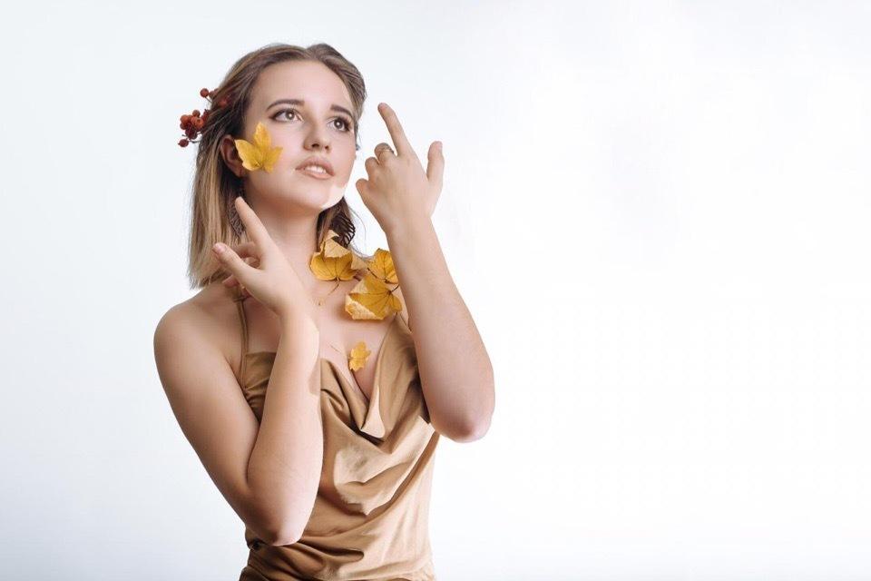 Вероника Бондарева в конкурсе «Мисс Блокнот-2019»