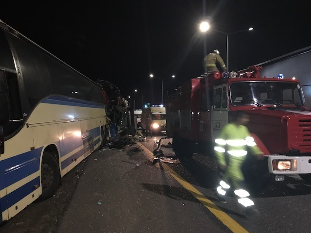 Пять человек погибли при столкновении двух пассажирских автобусов в Воронежской области - среди пострадавших есть ставропольчане