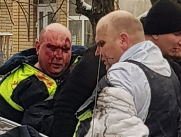 Задержание двух полицейских-взяточников попало на видео в Пятигорске