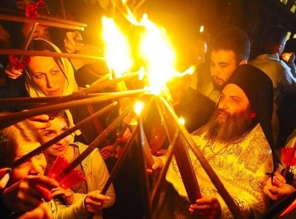 Благодатный огонь из Иерусалима привезут в Ставрополь