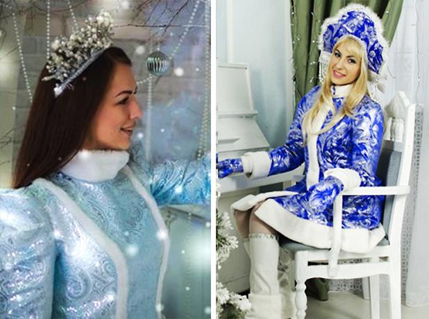 Юлия Пожарская или Виктория Лозовская: выберите победителя конкурса «Снегурочка-2018»