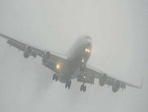 Сильный туман помешал приземлиться самолету из Москвы в аэропорту Ставрополя