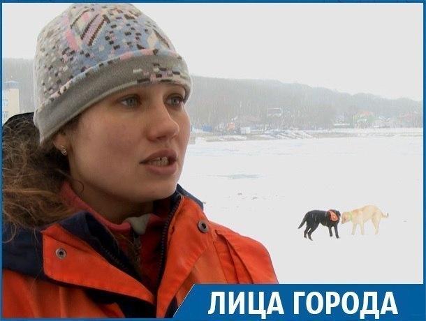 «Мы жертвуем жизнью собаки ради спасения человека», - кинолог ПАСС Александра Марахова