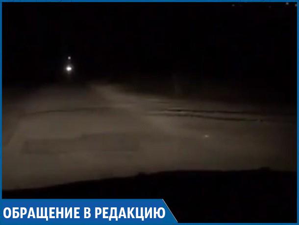 «На улице Розы Люксембург по ночам совсем нет освещения», - жители Ставрополя