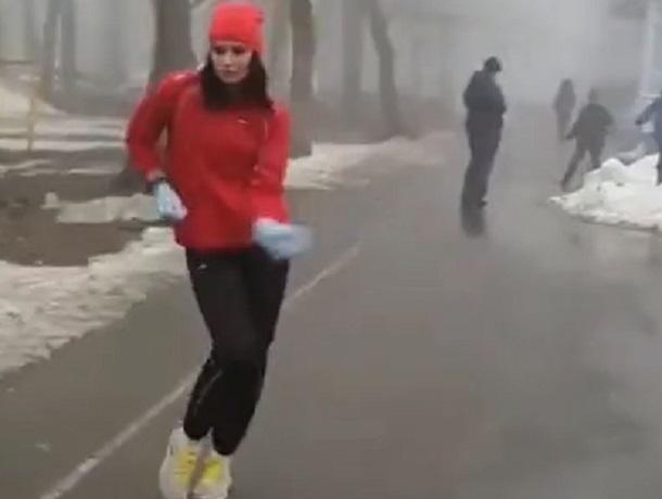 Зажигательный танец спортивной ставропольчанки попал на видео