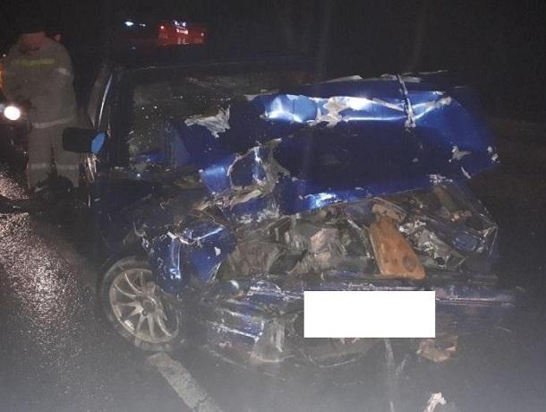 Водитель «Москвича» разбился насмерть после столкновения с «КамАЗом» на Ставрополье