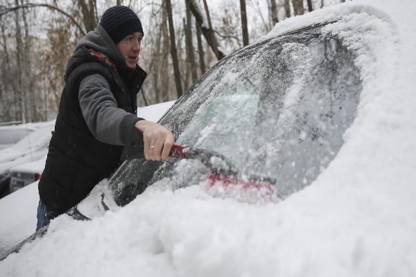 Снегопад и гололед прогнозируют в субботу на Ставрополье
