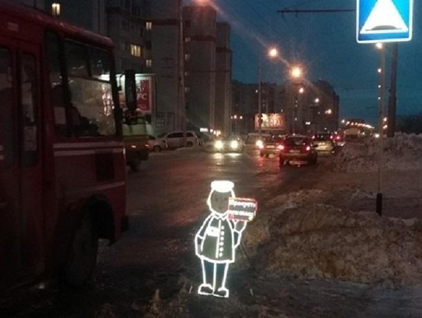 Яркие маленькие «человечки» появились возле переходов в Ставрополе