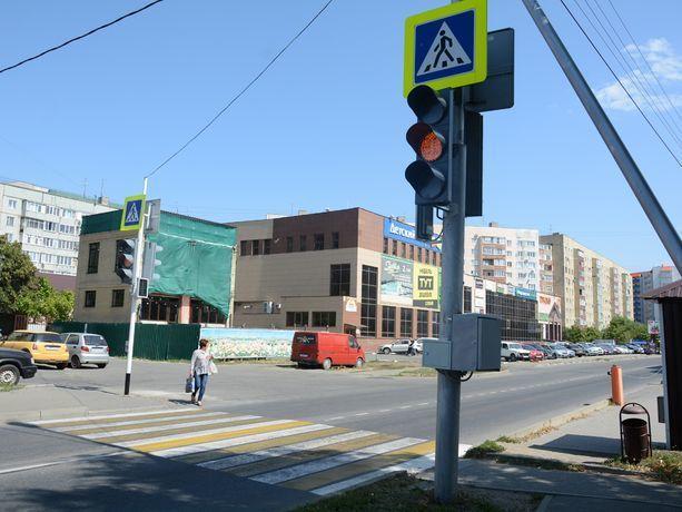 Первый светофор с кнопкой появился в северо-западном районе Ставрополя