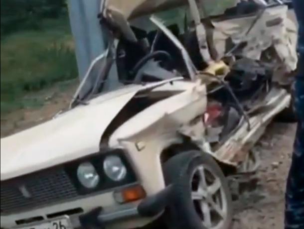 Автозак въехал в «шестерку» на Ставрополье - водитель ВАЗа погиб