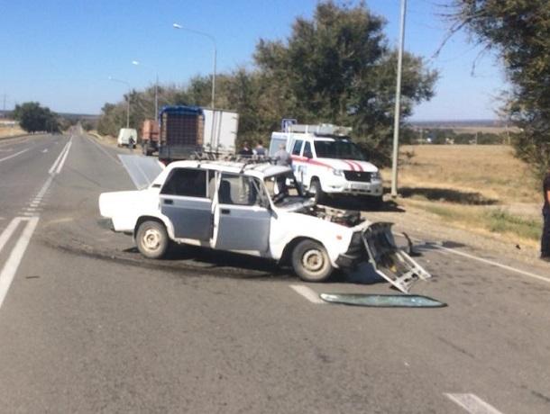 99-летний водитель «семерки» погиб в страшном ДТП с «Приорой» на Ставрополье