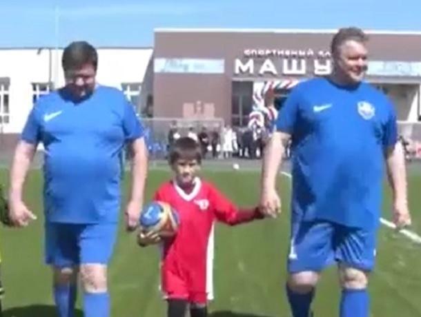 Губернатор Владимиров возглавил команду правительства в товарищеском матче по футболу  на Ставрополье