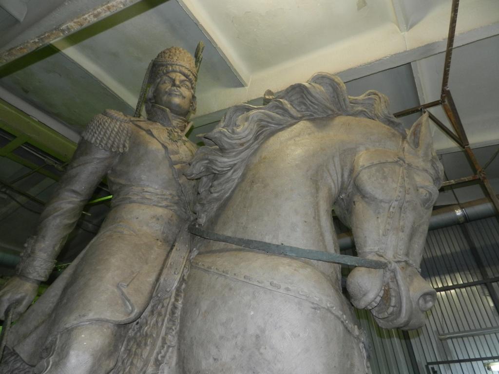НаСтаврополье открыли монумент герою войны 1812 гогда, атаману Платову